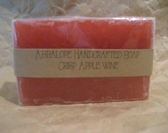 Crisp Apple Wine Soap Bar