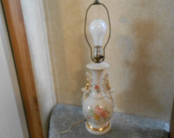 1940's Martha Washington 3-Way Victorian Table Lamp