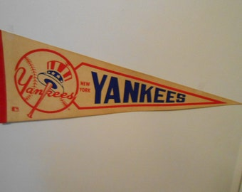 1960's New York Yankees Pennant