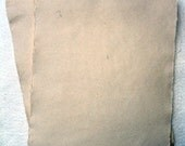 "3-Pack Hand Made Cotton Linen Silk Paper, 8.5 x 11"", Beige Medium Weight"
