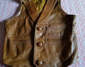 Rock Star Leather Vest