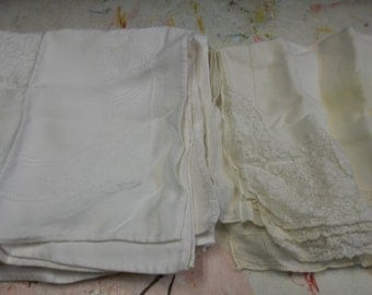 Vintage Two Sets of Napkins, Sets of Three, 1216S