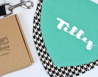 Personalised pet bandana - dog bandana personalized - dog bandana collar - pet accessory - dog collar - dog clothing - gift for dog