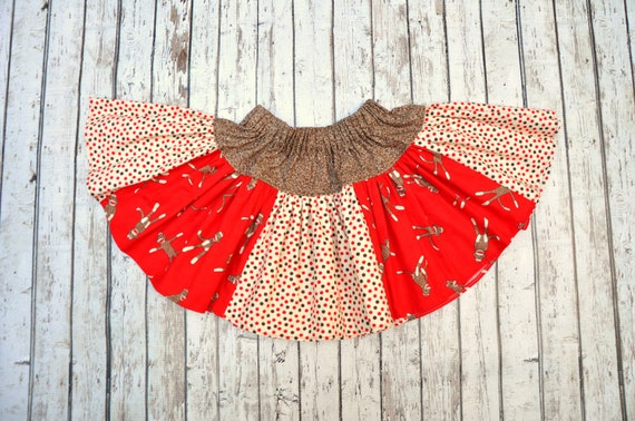 Sock Monkey Twirl Skirt 2/3