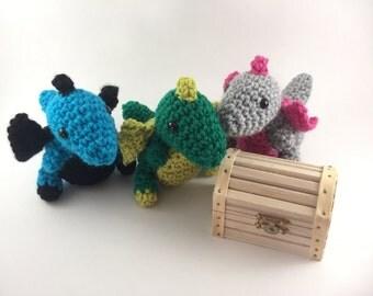 Dragon plushie,dragon plush toy,sensory toy,soft kids toy,handmade,mini dragon,fantasy dragon,amigurumi,crochet dragon plush,cute dragon toy
