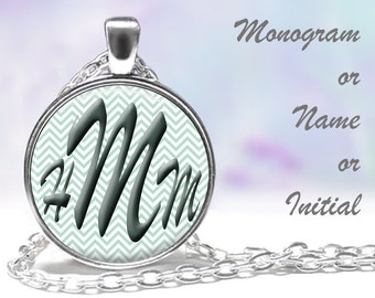 Gift for Her Mom Grandma Sister Daughter Friend Bride Bridesmaids FREE SHIPPING Gift for Her, Monogram & Name Necklaces Monogram Name
