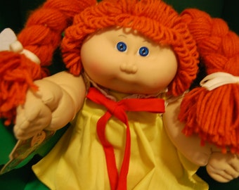 1984 red headed Cabbage Patch doll