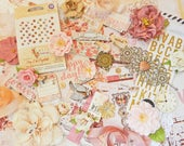 Scrapbook Kit / Prima Love Clippings / Vintage Scrapbook / Scrapbooking Supplies / Prima Marketing / Scrapbook Embellishments / Shabby Chic