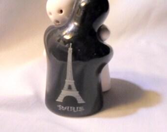 Paris Mid Century Hug Salt and Pepper Shakers