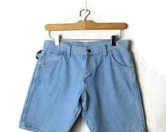 Vintage Wrangler Light Blue  Denim  Shorts from 90's*