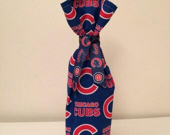 Chicago Cubs wine or bottle bag