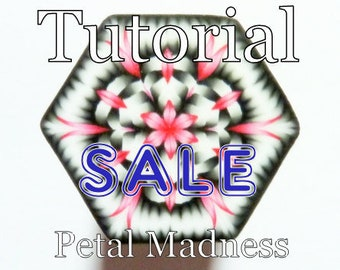 Polymer Clay Cane Tutorial - TUTORIAL - The Petal Madness Cane