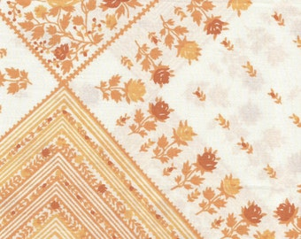 DOLLAR DEAL: ONE Sweet Vintage Sheet Fat Quarter, Vintage Fabric, Fat Quarter, Shabby Chic, Reclaimed Fabric