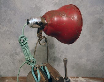 Vintage Colorful Clamp Light