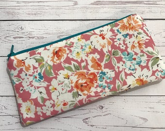 Pencilcase - Pencilpouch - Stationary Pouch - Zipped Pouch- Make - up brush pouch