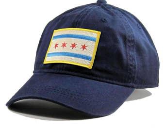 Homeland Tees Chicago Flag Hat