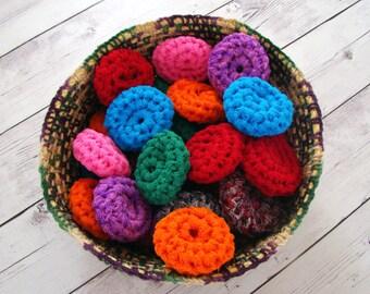 Crochet Pattern - Scrubbie Pattern