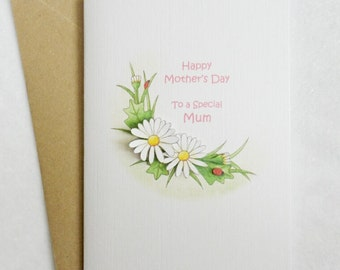 Mother's Day Daisy Card