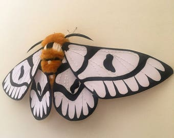 Sagebrush Sheep Moth Soft Sculpture