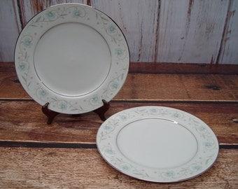 Set of 2 English Garden Dinner Plates, 1221, Fine China