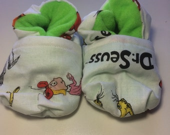 Dr. Seuss Baby Booties (One Size Fits Most 0 - 18 Months)