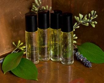 Body Oil, Perfume Oil, Vegan, Scented Body Oil,  All Natural Perfume Oil, Natural Perfume, Roll on Body Oil, Roll On Perfume