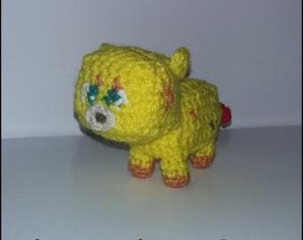 Crochet Pattern - Mini Ocelot from Minecraft