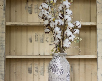 Cotton Boll Stems , Birch Twigs and Cotton,  Cotton Bolls , Cotton and Birch Branches , Wedding Flowers , Faux Cotton Stems ,  Twig Bouquet