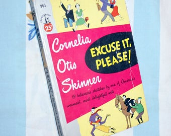 Excuse It, Please! 1953 Pocket Book