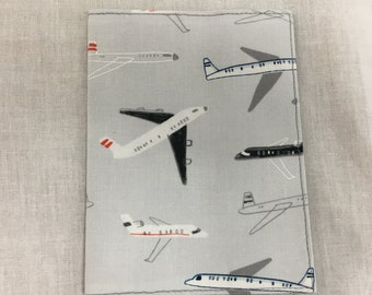 Stylized Airplanes Passport Cover, Passport Holder, Passport Protector, Passport Wallet