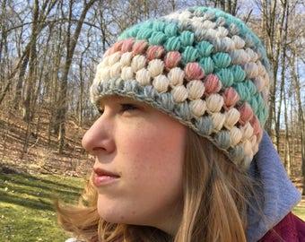 Ragamuffin Puff Stitch Hat Pattern