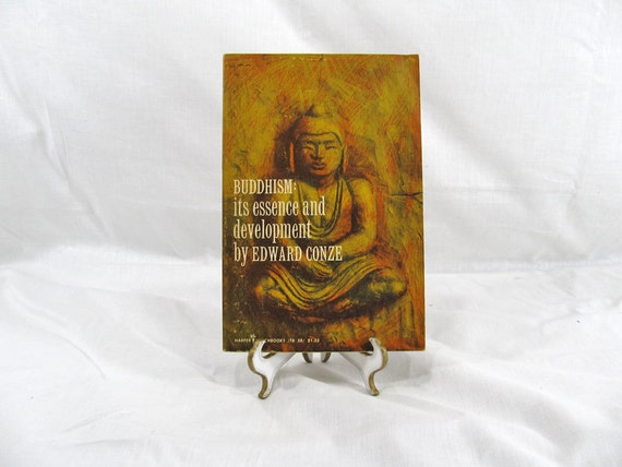 Buddhism: Its Essence and Development by Edward Conze 1959 First Harper Torchbook Vintage Book Spirituality Religion Philosophy