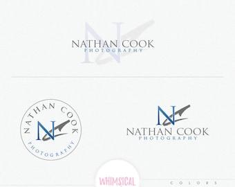 professinal Photographer Initials 3-  professional Initials branding logo- brush masculine kit-  photographer branding customized watermark