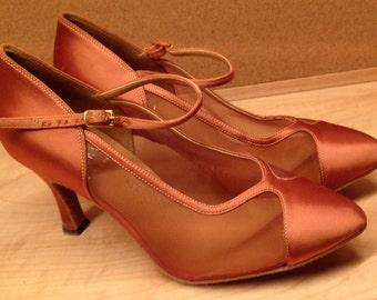 Vintage Dance Shoes Professional Tango Size 6.5 Near New