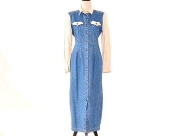 Vintage western maxi dresses