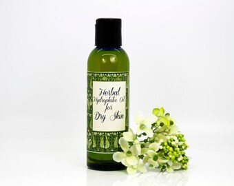 Herbal hydrophilic oil for dry skin, organic face wash, organic face cleanser, organic hydrophilic oil