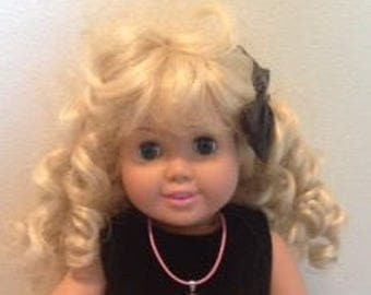 Dolly and me American girl doll matching necklaces