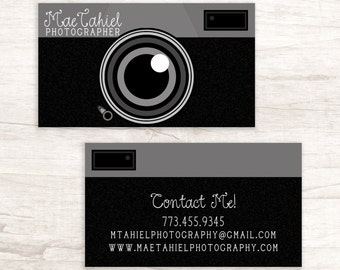 Camera business card | Etsy