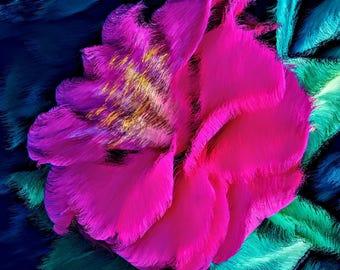 Petals Of A Lover / Petalos De Un Amante - Print ***Instant Digital Download***