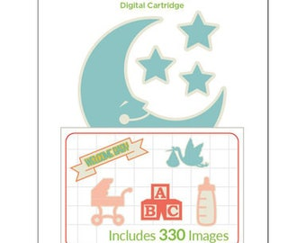 Cricut Digital Cartridge FIRST FEW YEARS 330 Images for Cricut Design Space 2003793 cc04