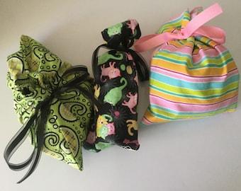 3 Cloth Reusable Gift Bags