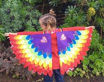 Kids Music Festival/ Dress-Up/ Costume Bird Wings - size 4-5