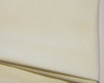 28 count white evenweave fabric. Cut piece size 60 x 40cm. Cross stitch and embroidery fabric. White craft fabric. Cross Stitch.