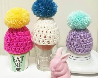 Pom-pom Egg Cosy! Easter * Breakfast * Mother's Day *Father's Day