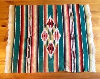 Vintage woven Navajo pattern