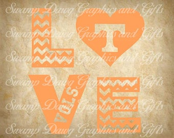 Tennessee svg, Tennessee Vols svg, svg, silhouette, cricut, digital file, cut file, vinyl,love svg, love cut file, tennessee cut file, heart
