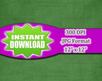 Dark Green Fabric Digital Scrapbook Page Craft Supply - 300 DPI - JPG File Format - 12x12 - HighResolution - INSTANT Digital Download - 443