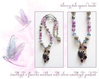 Mystical Mauves necklace