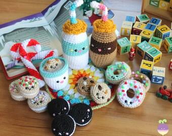 Mini Donuts Amigurumi : Kerst Ornamenten 14 Kerstboom Decoraties Kerstballen Haken