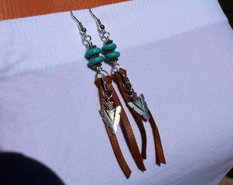 Southwestern style earrings